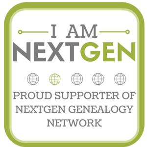 I Am NextGen - Proud Supporter of NextGen Genealogy Network