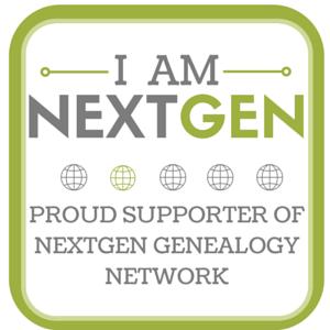 I Am NextGen - Proud Supporter of NextGen Genealogy Network